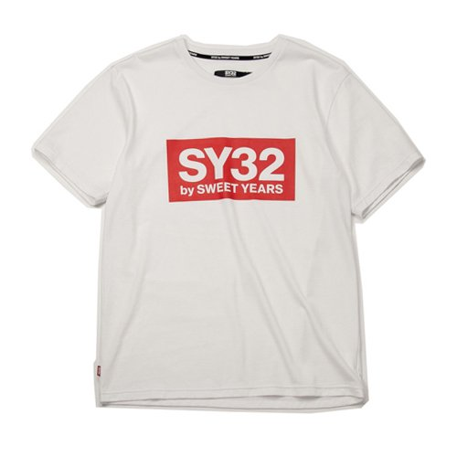 SY32/メンズ【Tシャツ】-COLOR BOX LOGO TEE-