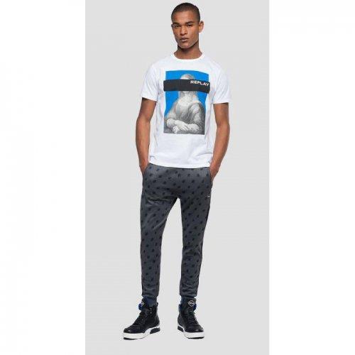 REPLAY/リプレイ!メンズ/Tシャツ-MONNA LISA PRINT T-SHIRT-