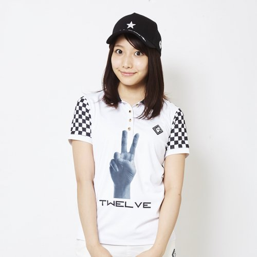 V12/ヴィ・トゥエルブ'レディース'【ポロシャツ】-PIECE POLO_WM-