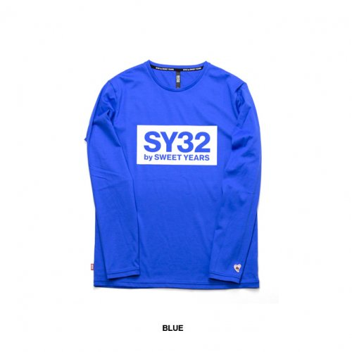 "SY32 by SWEET YEARS/エスワイサーティトゥバイスィートイヤーズ""メンズ""-BOX LOGO L/S TEE-"