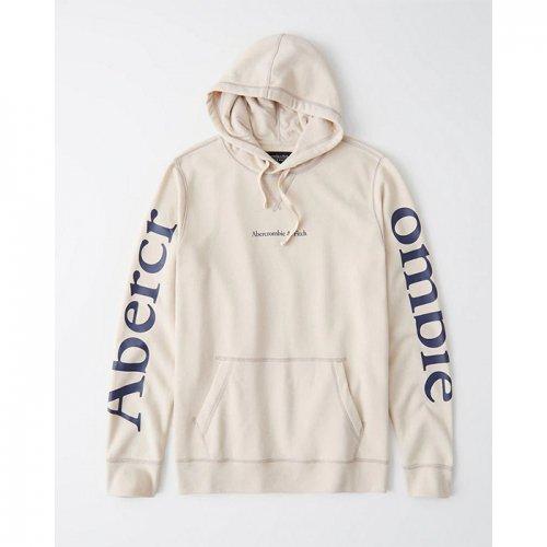 Abercrombie&Fitch/アバクロ【メンズ】-Lightweight Logo Hoodie-