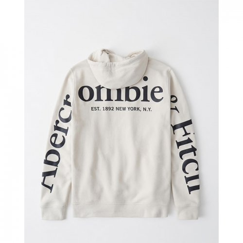 Abercrombie&Fitch/アバクロ【メンズ】-Exploded Logo Hoodie-