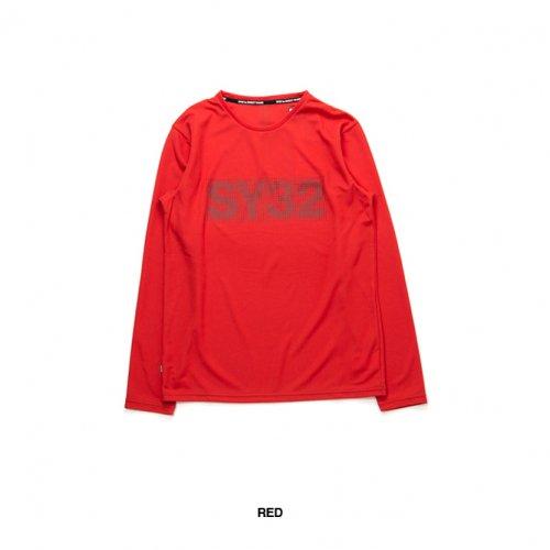 "SY32 by SWEET YEARS/エスワイサーティトゥバイスィートイヤーズ""メンズ""-【GEAR】DOT LOGO L/S TEE-"
