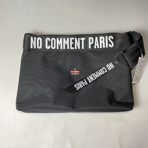 NO COMMENT PARIS/ノーコメントパリ【ユニセックス】-clutch bag-