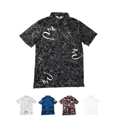 "SY32 by SWEET YEARS/エスワイサーティトゥバイスィートイヤーズ""メンズ""-GRAPHIC POLO-"