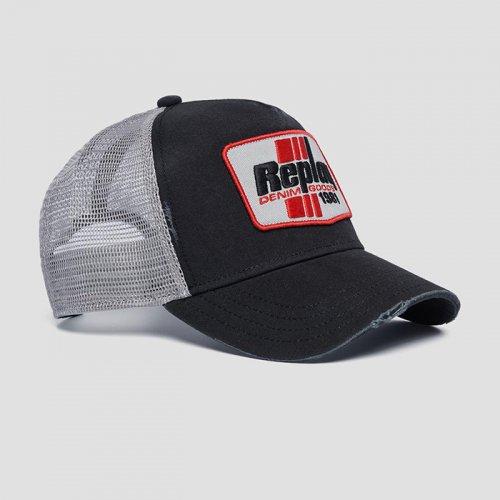 """REPLAY/リプレイ""""メンズ""""-REPLAY DENIM GOODS 1981 CAP-"""