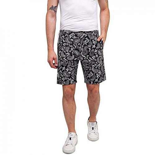 REPLAY/リプレイ【メンズ】-Paisley all over print comfort shorts-
