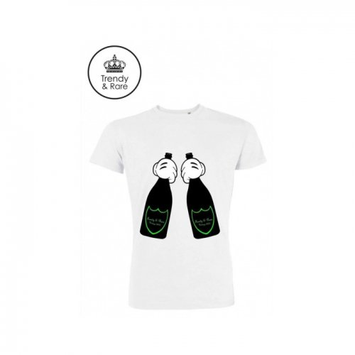 Trendy & Rare (トレンディ&レア) 【ユニセックス】-T-shirt Bottles Luminous Edition-