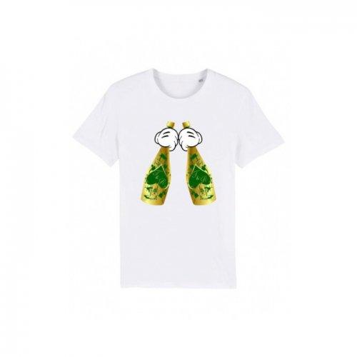 Trendy & Rare (トレンディ&レア) 【ユニセックス】-T-shirt ACE Green SPLATTER-