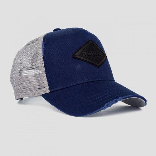 REPLAY/リプレイ!-REPLAY CAP WITH BREAKAGES-