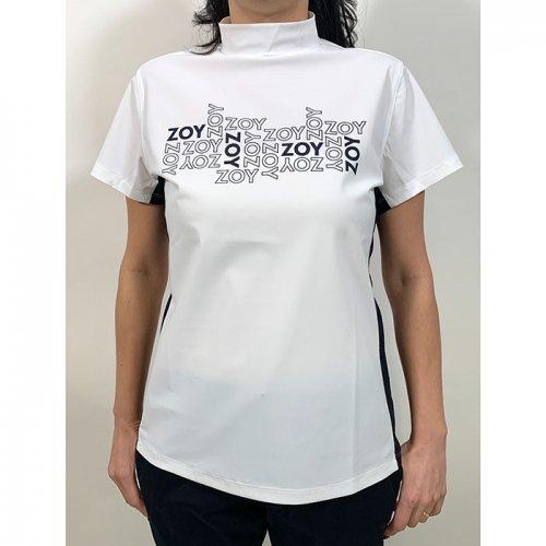 ZOY/ゾーイ-Euro jersey short sleeve mock neck(WOMEN)-