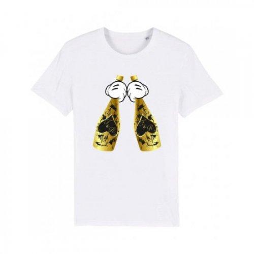 Trendy & Rare (トレンディ&レア) 【ユニセックス】-T-shirt ACE BLACK SPLATTER-
