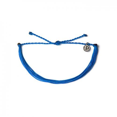 Pura Vida(プラ・ヴィダ)本物正規品!【ブレスレット】-Solid Blue-
