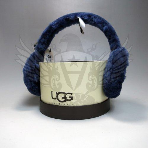 UGG/アグ本物正規品! レディース【イヤマフ】-DOUBLE 'U' LOGO SHEEPSKIN EARMUFF-
