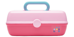 <img class='new_mark_img1' src='//img.shop-pro.jp/img/new/icons43.gif' style='border:none;display:inline;margin:0px;padding:0px;width:auto;' />Caboodles  Makeup Case (Pink ×Pink)