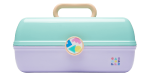 <img class='new_mark_img1' src='//img.shop-pro.jp/img/new/icons43.gif' style='border:none;display:inline;margin:0px;padding:0px;width:auto;' />Caboodles Makeup Case Big (purple×mint)