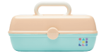 <img class='new_mark_img1' src='//img.shop-pro.jp/img/new/icons14.gif' style='border:none;display:inline;margin:0px;padding:0px;width:auto;' />Caboodles Makeup Case (Peach ×Mint)