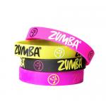 【ZUMBA】ズンバ Armed N Fabulous Rubber Bracelets 2018春1 ラバーブレスレット4本即納