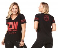 <img class='new_mark_img1' src='https://img.shop-pro.jp/img/new/icons5.gif' style='border:none;display:inline;margin:0px;padding:0px;width:auto;' />【ZUMBA】ズンバ Zumba For All By All Top 2019夏2 オールトップ/ブラック
