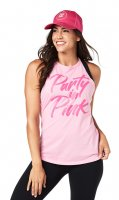<img class='new_mark_img1' src='https://img.shop-pro.jp/img/new/icons7.gif' style='border:none;display:inline;margin:0px;padding:0px;width:auto;' />【ZUMBA】ズンバ Party In Pink High Neck Tank 2019秋1 ハイネックタンク/ローズ