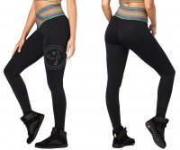 <img class='new_mark_img1' src='https://img.shop-pro.jp/img/new/icons7.gif' style='border:none;display:inline;margin:0px;padding:0px;width:auto;' />【ZUMBA】ズンバ Zumba Inspire High Waist Long Leggings 2019秋1 ハイウエストロングレギンス/ブラック