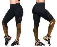 【ZUMBA】ズンバ Shine Ankle Leggings With Swarovski Crystals 2019 シャインアンクルレギンススワロフスキー/ブラック