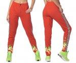 【ZUMBA】ズンバ Zumba Let's Go Sweatpants 2020春3 スウェットパンツ/レッド