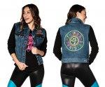 【ZUMBA】ズンバ Zumba Original Jacket With Swarovski Crystals 2020夏1 スワロフスキーオリジナルジャケット