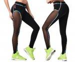 【ZUMBA】ズンバ Zumba Original Flow Panel Ankle Leggings 2020夏1 オリジナルフローパネルアンクルレギンス/ブラック