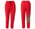 【ZUMBA】ズンバ Zumba All Stars Baggy Sweatpants 2020夏2 バギースウェットパンツ/レッド