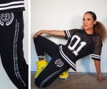【ZUMBA】ズンバ Zumba Crop Sweatpants With Swarovski Crystals 2020夏2 スウェットパンツスワロフスキー/ブラック