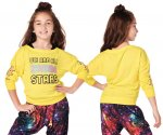 【ZUMBA】ズンバ ZW Juniors All Stars Pullover 2020 ジュニア プルオーバー/イエロー