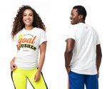 【ZUMBA】ズンバ 男女兼用 Goal Crusher Tee 2021春2 ゴールクラッシャーTシャツ/ホワイト