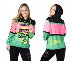 【ZUMBA】ズンバ Zumba Pop Pullover Jacket 2021春3 ポッププルオーバージャケット/ブラック