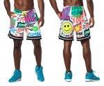 【ZUMBA】ズンバ Zumba Pop Shorts 2021春3 メンズ ポップショーツ/ホワイト