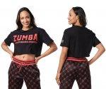 【ZUMBA】ズンバ Zumba Original Top 2021夏1 スオリジナルトップ/ブラック