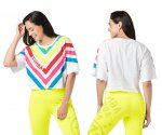【ZUMBA】ズンバ Zumba Style Tee 2021夏1 スタイルハTシャツ/ホワイト