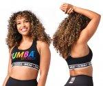 【ZUMBA】ズンバ Zumba Happy Scoop Bra 2021夏3 ハッピースコープブラ/ブラック