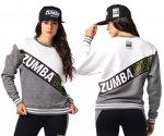 【ZUMBA】ズンバ Zumba Wear Pullover Sweatshirt 2021夏3 ズンバウェアスプルオーバーウェット/ホワイト