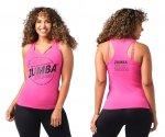 【ZUMBA】ズンバ All Moves Welcome Racerback 2021夏3 ウェルカムレーサーバック/ピンク