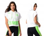 【ZUMBA】ズンバ Zumba EST. 2001 Short Sleeve Pullover 2021夏3 ショートスリーブプルオーバー/ホワイト