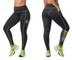 【ZUMBA】ズンバ Zumba EST. 01 High Waisted Ankle Leggings With Pockets 2021秋3 ポケットアンクルレギンス/ブラック