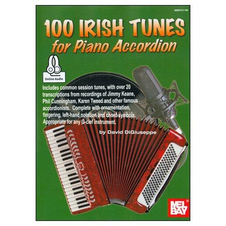 《アコーディオンのための100のアイルランド民謡 》