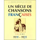 《フランスシャンソンの1世紀 1919 - 1929》 楽譜