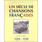 《フランスシャンソンの1世紀 1929 - 1939》 楽譜