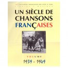 《フランスシャンソンの1世紀 1939 - 1949》 楽譜