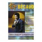 ベコー、ジルベール 『Top Becaud』  シャンソン楽譜