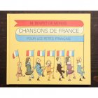 フランス童謡集 《子供のためのフランスの歌》 ブーテ・ド・モンヴェル [ハードカバー] 楽譜