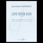 ガンドリユ,ジャン=シャルル 《Love Never Ends op.42》 Acc.,Org.