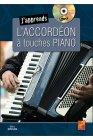 モーガン,マニュ 教則本:鍵盤式アコーディオンを学ぶ CD付属